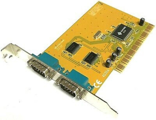 Imagen 1 de 1 de Placa Serie Marca Sunix Modelo 4036a 2 Puertos Rs232 Pci