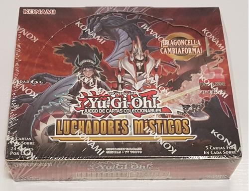 Yugioh! Yu-gi-oh! Caja Mystic Fighters En Español Nueva !!!