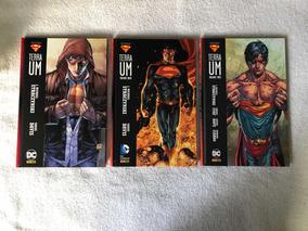 Coleção Completa Superman Terra Um - 3 Volumes - Panini