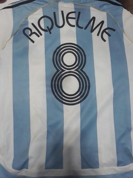 Remera Argentina Riquelme
