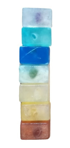 Kit 7 Mini Jabones Naturales De Los 7 Ch - g a $238