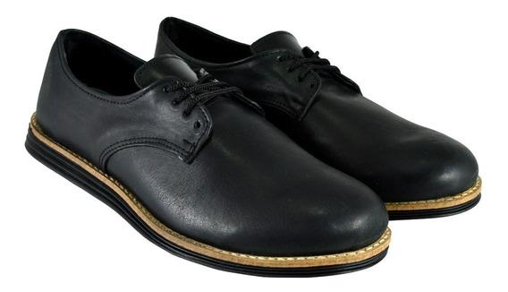 Zapatos Hombre Vestir Cuero Cordones