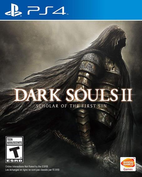 Dark Souls Ii: Scholar Of The First Sin Ps4 Mídia Física