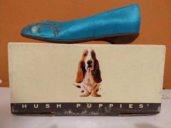 Hush Puppies Chatitas Turquesa Mujer Off!