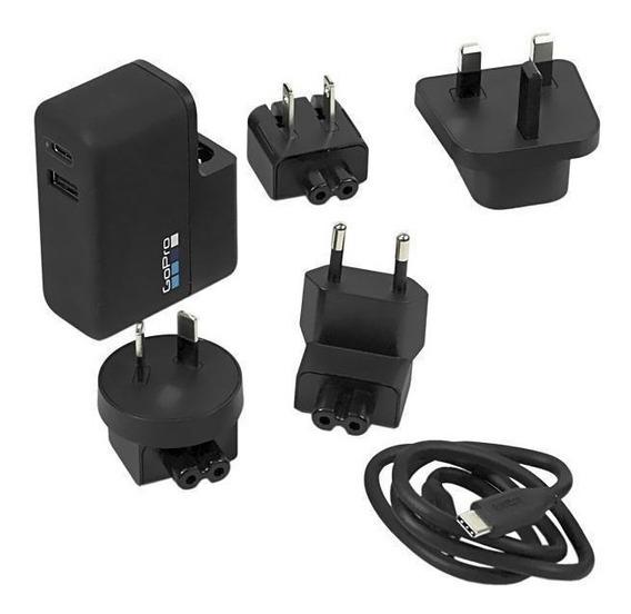 Gopro Carregador Dual Supercharger Awalc-002 Hero5 Black/ 5s
