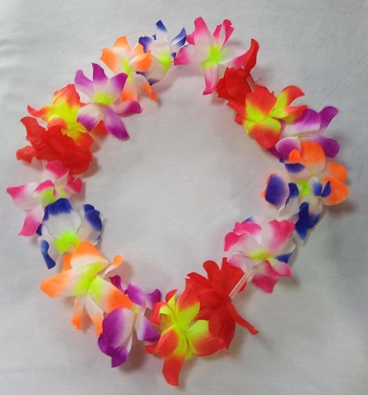 Colar Com Flores Grandes Para Festas E Eventos