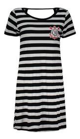 Vestido Corinthians Mona Listrado