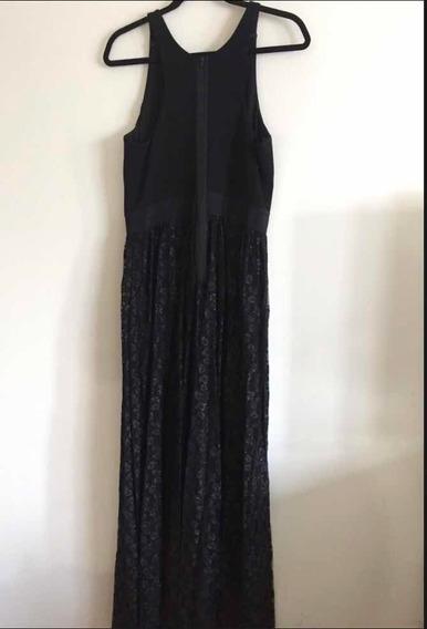 Vestido Noche Milly Negro Alta Costura Precio Remate