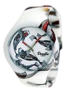Reloj Doodle Watch Doar001- Koi Carp Red- Oriental