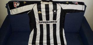 Camisa De Futebol Botafogo! Kappa! Autografada! Sebo Da Bidi