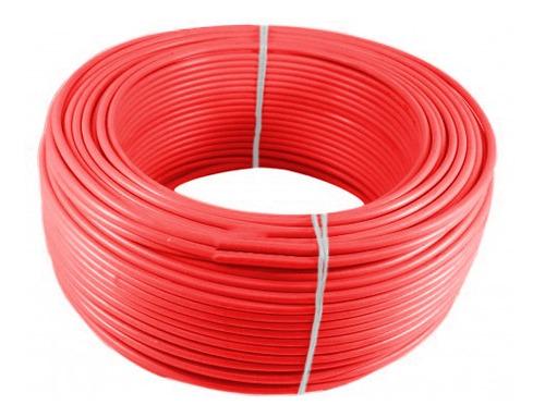 Imagen 1 de 1 de Alambre O Cable Rígido N10'' Rojo X 100 Metros Procables