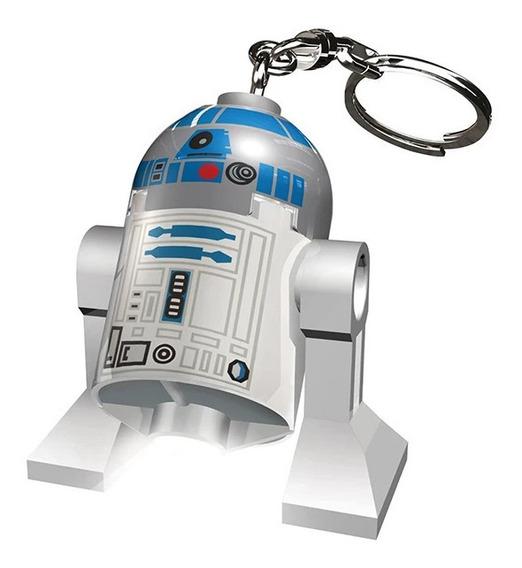 Llavero Con Luz R2d2 Star Wars