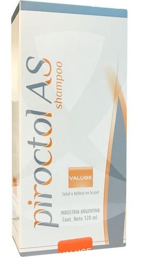 Imagen 1 de 5 de Piroctol As Shampoo 120ml Dermatitis Seborreica Anticaspa
