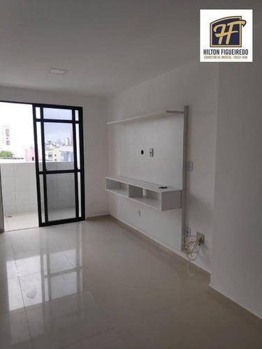 Apartamento À Venda Por R$ 320.000,00 - Bessa - João Pessoa/pb - Ap6347