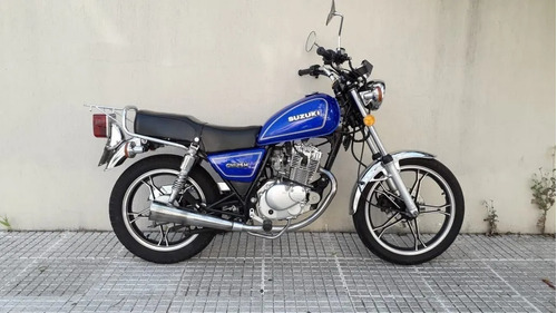 Suzuki Gn 125 Excelente Estado  En Brm !!!