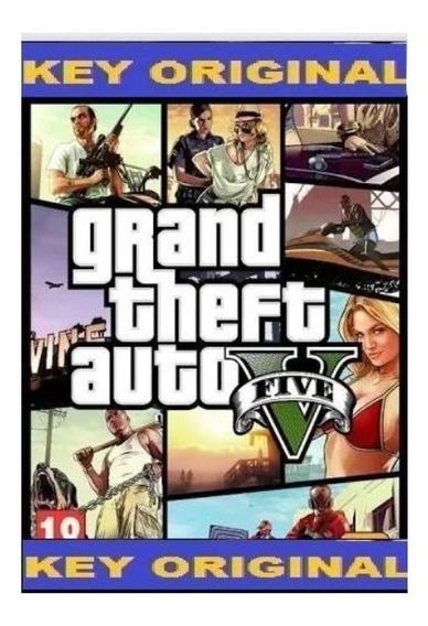 Gta 5 Grand Theft Auto V Steam Original Cd Key