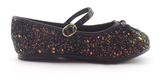Zapatos Guillerminas Glitter Nena Chatita Chata Liquidacion