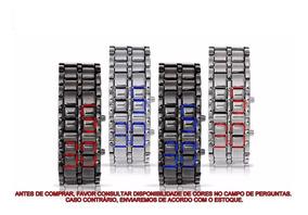 Relógio Pulseira Iron Samurai - Digital Led