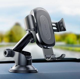 Soporte Celular Auto Ventosa Baseus Carga Inalambrica Rapida