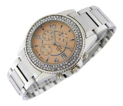 Reloj Montreal Mujer Ml405 Sumerg. Calendario Envío Gratis