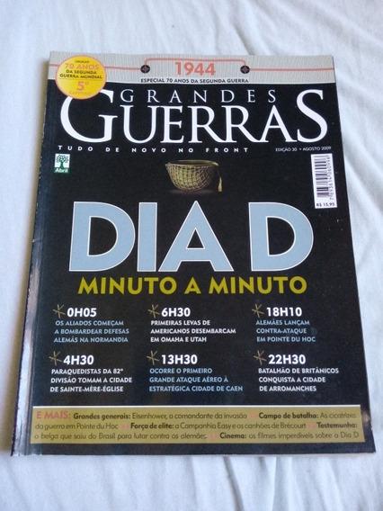 Revista Grandes Guerras. Dia D Minuto A Minuto. Ed Abril.