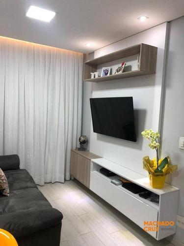 Apartamento Com 2 Dormitórios À Venda, 51 M² Por R$ 265.000,00 - Centro - São Bernardo Do Campo/sp - Ap0164