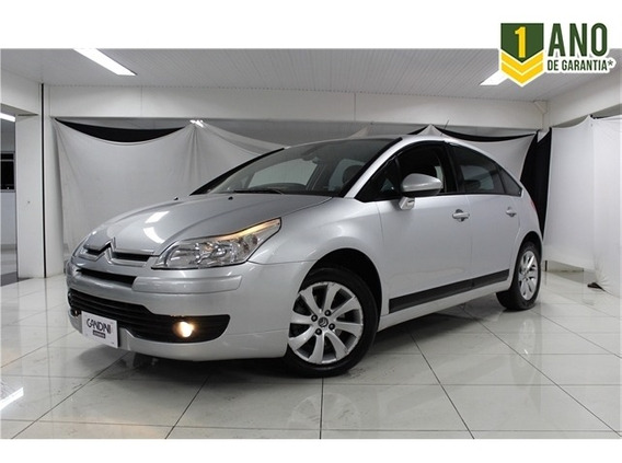 Citroen C4 2.0 Exclusive 16v Flex 4p Manual