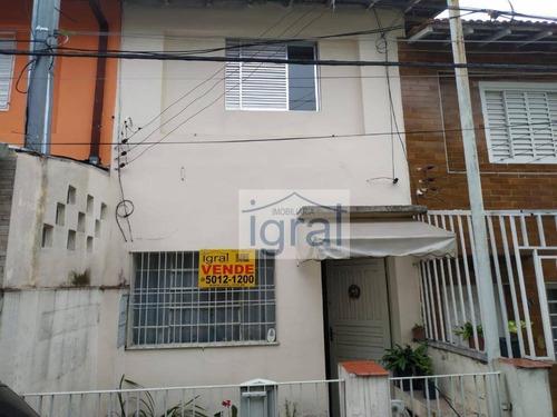 Imagem 1 de 22 de Sobrado À Venda, 53 M² Por R$ 300.000,00 - Vila Guarani (zona Sul) - São Paulo/sp - So0367