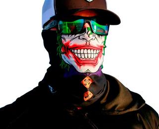 Cuello Multifuncion Mascara Termico Bici Moto Ski X100 Cuota