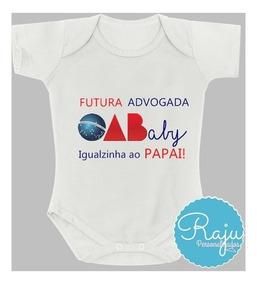 Body Bebê Futura(o) Advogada/advogado - Roupa Bebê