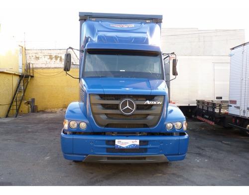 Imagem 1 de 15 de Mercedes Atron 2324 Com Sider