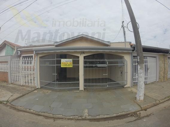 Casa Para Aluguel, 3 Dormitórios, Parque Gerbeli - Tatuí - 1149
