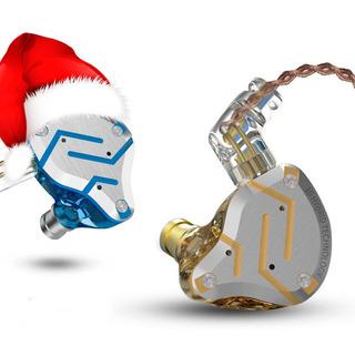 Audifonos Kz Zs10 Pro Gold Edition Navidad Y Año Nuevo $58.9