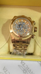 Relógio Invicta Zeus Bolt Skeleton Na Caixa A Prova D