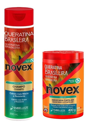 Kit Queratina Brasilera Tratamiento 400g Y Shampoo