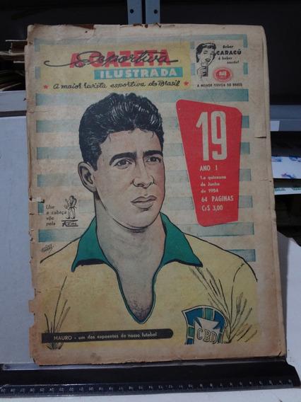 Jornal A Gazeta Esportiva Ilustrada Nº 19 1954 Mauro