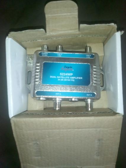 Amplificador De Directv. Marca Asper Dual Sateliite