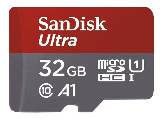 Cartão De Memória Sandisk Micro Sd C10 32gb 98mb/s + Brinde