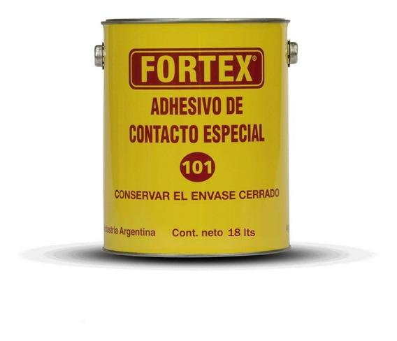 Cemento De Contacto Fortex 101 X 18 Lt Cuero Goma Madera