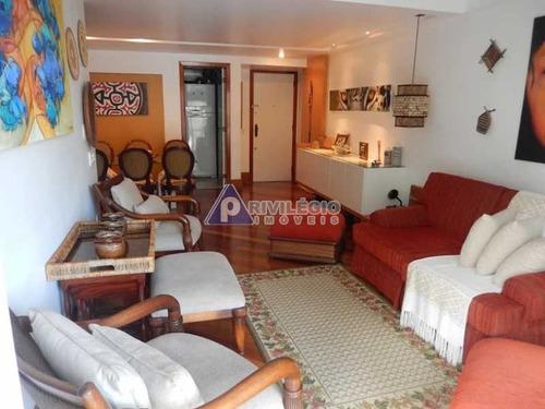 Imagem 1 de 16 de Apartamento À Venda, 2 Quartos, 1 Suíte, 2 Vagas, Leblon - Rio De Janeiro/rj - 5983