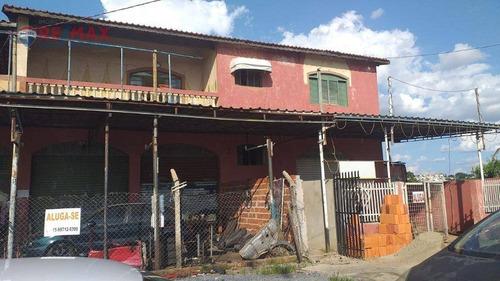 Casa Para Alugar, 200 M² Por R$ 1.100,00/mês - Parque São Bento - Sorocaba/sp - Ca1998