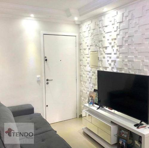 Imagem 1 de 10 de Imob01 - Apartamento 47 M² - Venda - 2 Dormitórios - Vila João Ramalho - Santo André/sp - Ap2337