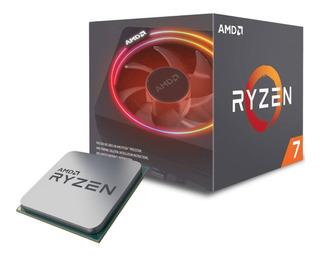 Procesador Amd Ryzen 7 2700x Socket Am4 3.7ghz 8 Cores Zen 16mb Cache Gamer