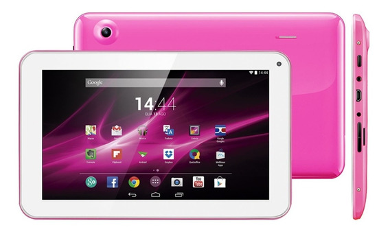 Tablet Celular Dual Chip 8gb 9 Polegadas Rosa Multilaser