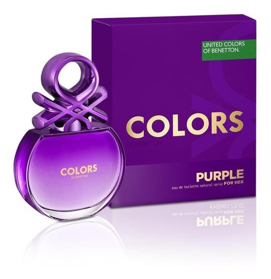Colors Purple 80 Ml Edt Spray De Benetton