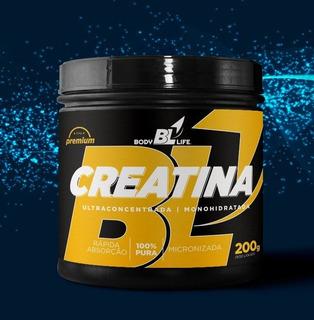 Kit Suplementos Creatinas + Pré-treino Strike 200g Body Life