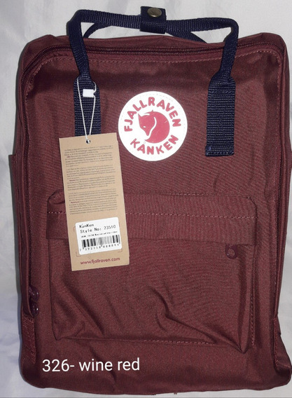 Mochila Fjallraven Kanken Classic 326- Wine Red