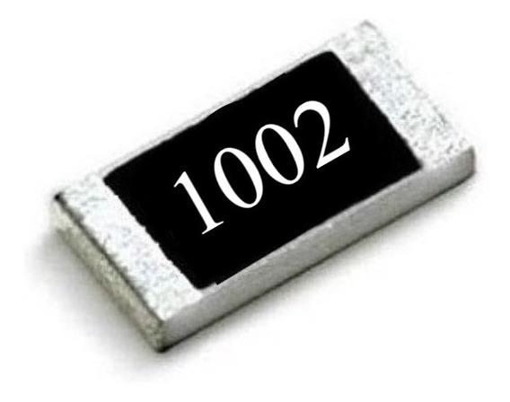 10k Ohms (25 Unidades) Resistor Smd 0603 (1,6mm X 0,8mm)