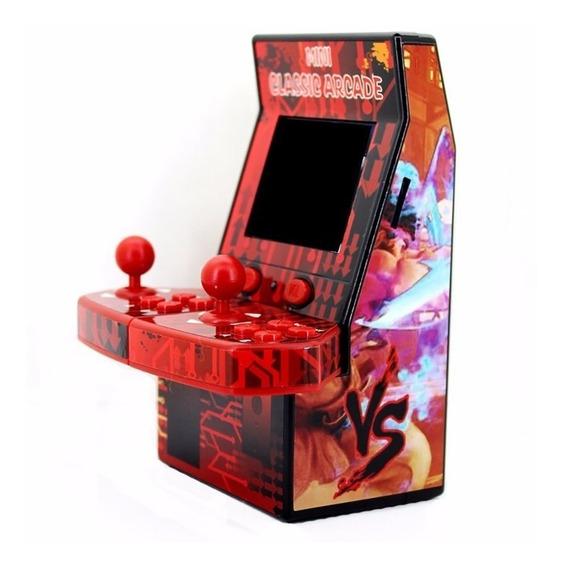 Mini Arcade Video Game Console Fliperama Machine 183 Jogos