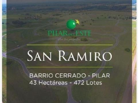 Hermoso Lote, Barrio San Ramiro, Pilar Del Este - Oportunidad!